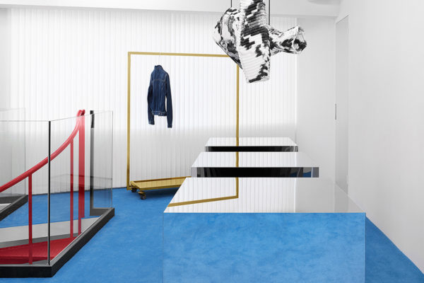 Blå Konst - Acne Studios Denim Line & Retail Space in Tokyo | Yellowtrace