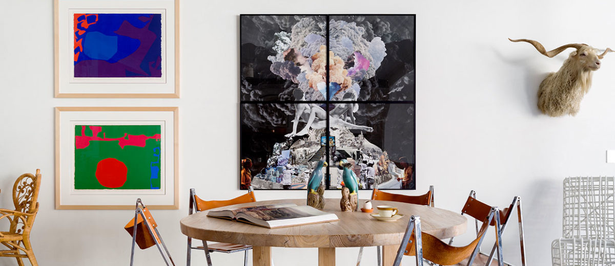 80s Bondi Beach House Transformed into an Eclectic Urban Home by Horizon & Tobias Partners   Yellowtrace