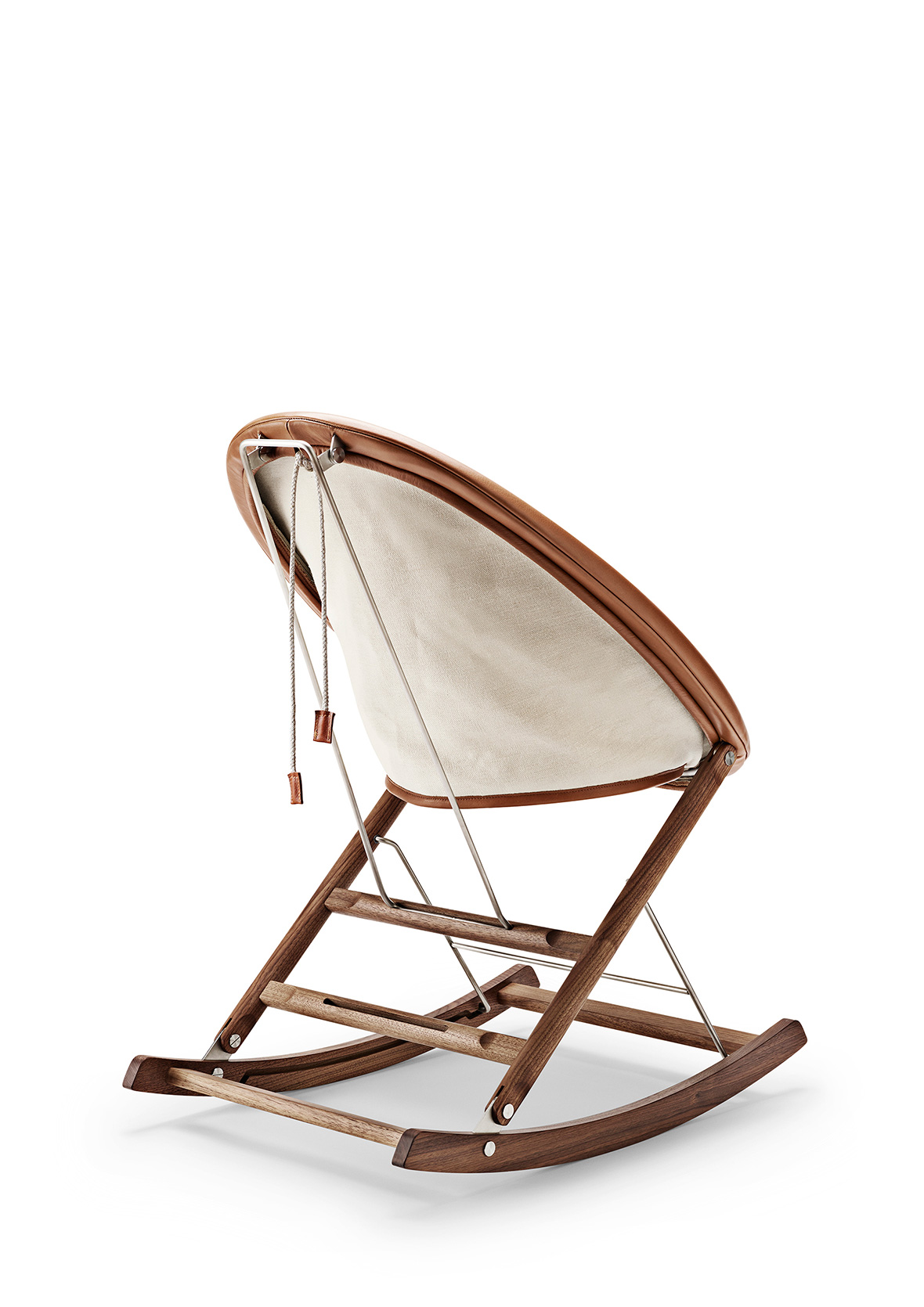 Rocking Nest Chair by Carl Hansen at Salone del Mobile 2017 | Yellowtrace