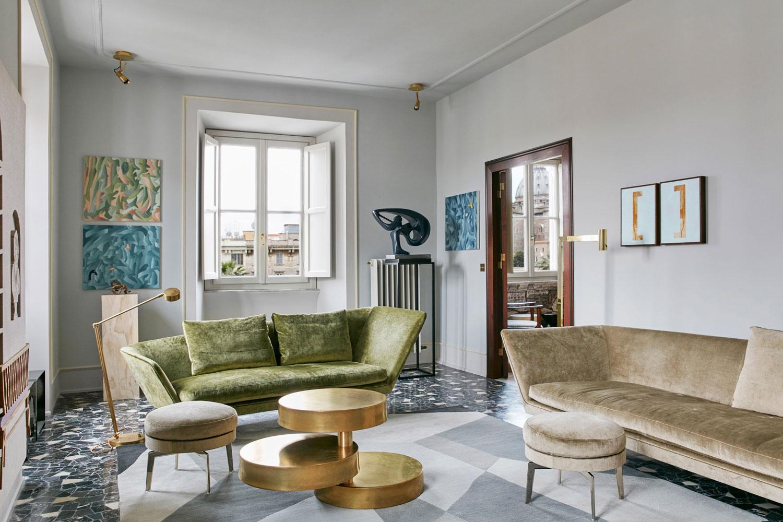 Casa in via Catone, Rome by Massimo Adario Architetto | Yellowtrace