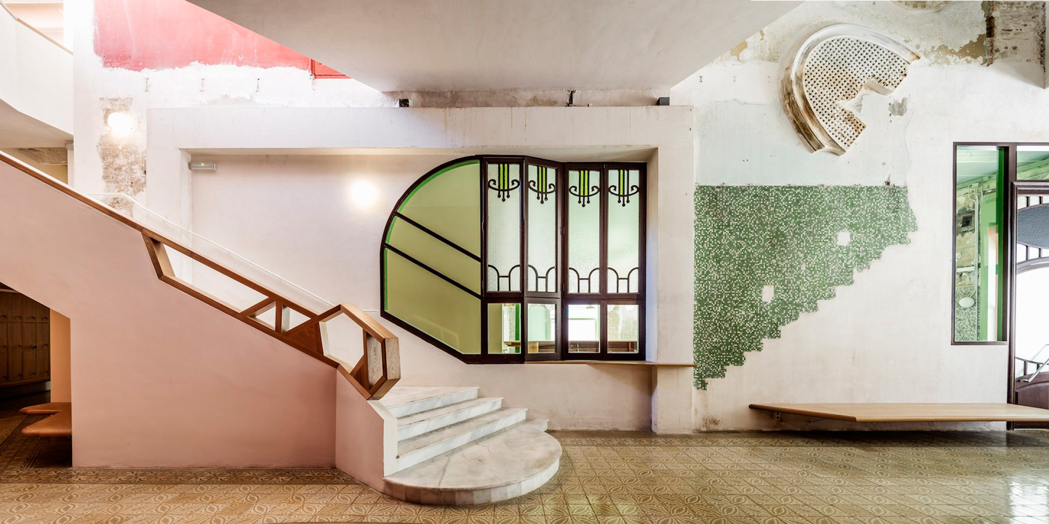 Charming Unfinished Character of Sala Beckett in Barcelona Refurbished by Flores & Prats | Yellowtrace