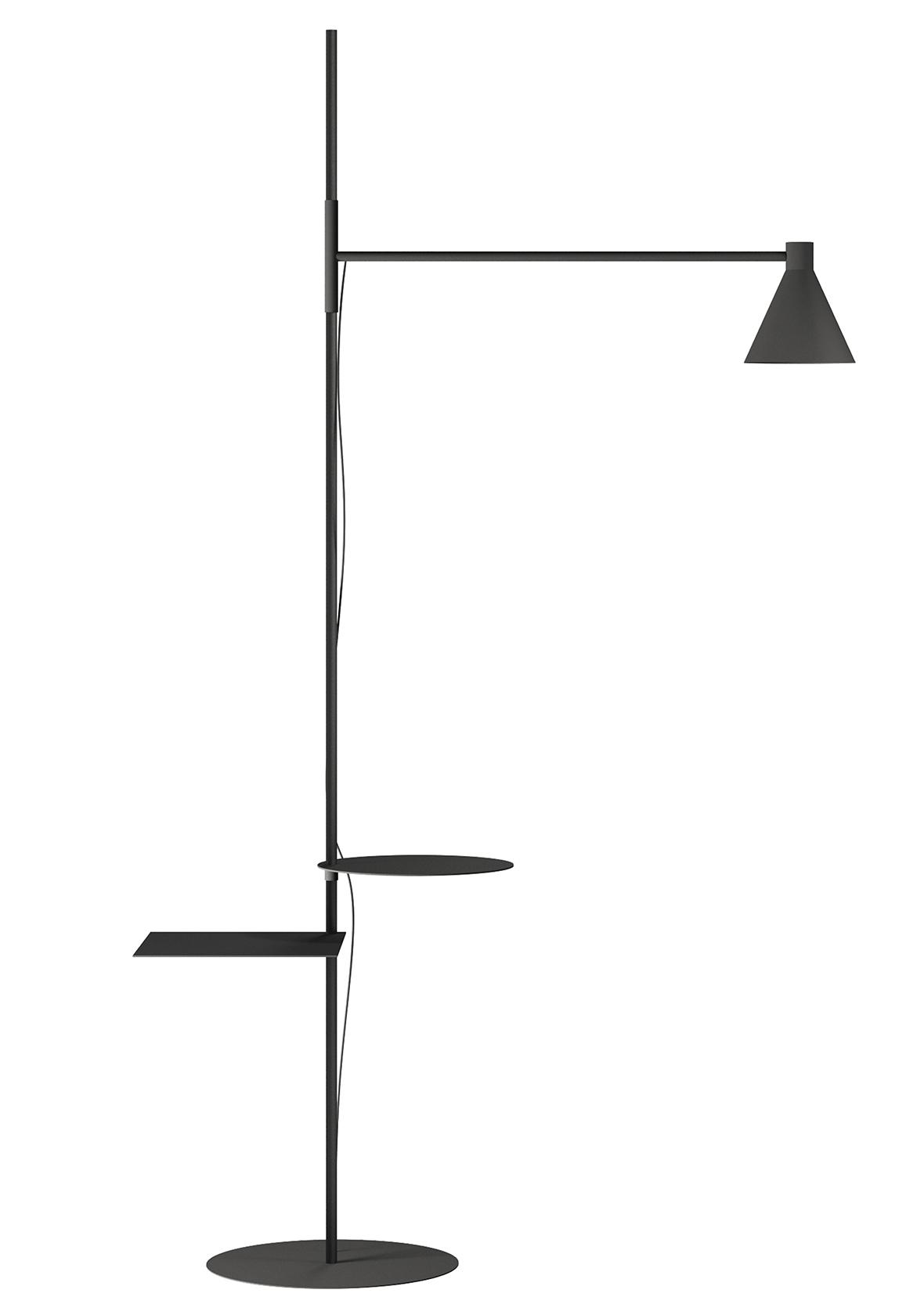 Nota Lamp by E. Ossino for De Padova at Salone del Mobile 2017 | Yellowtrace