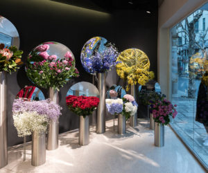 Flower Shop Project in Shanghai by Alberto Caiola | Yellowtrace