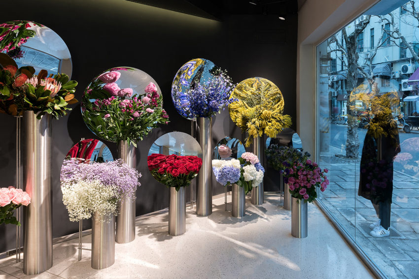 Flower Shop Project in Shanghai by Alberto Caiola   Yellowtrace