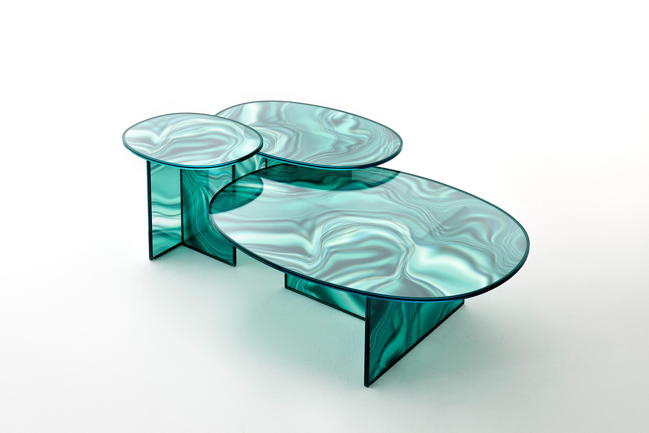 Liquefy by Patricia Urquiola for Glass Italia at Salone del Mobile 2017   Yellowtrace