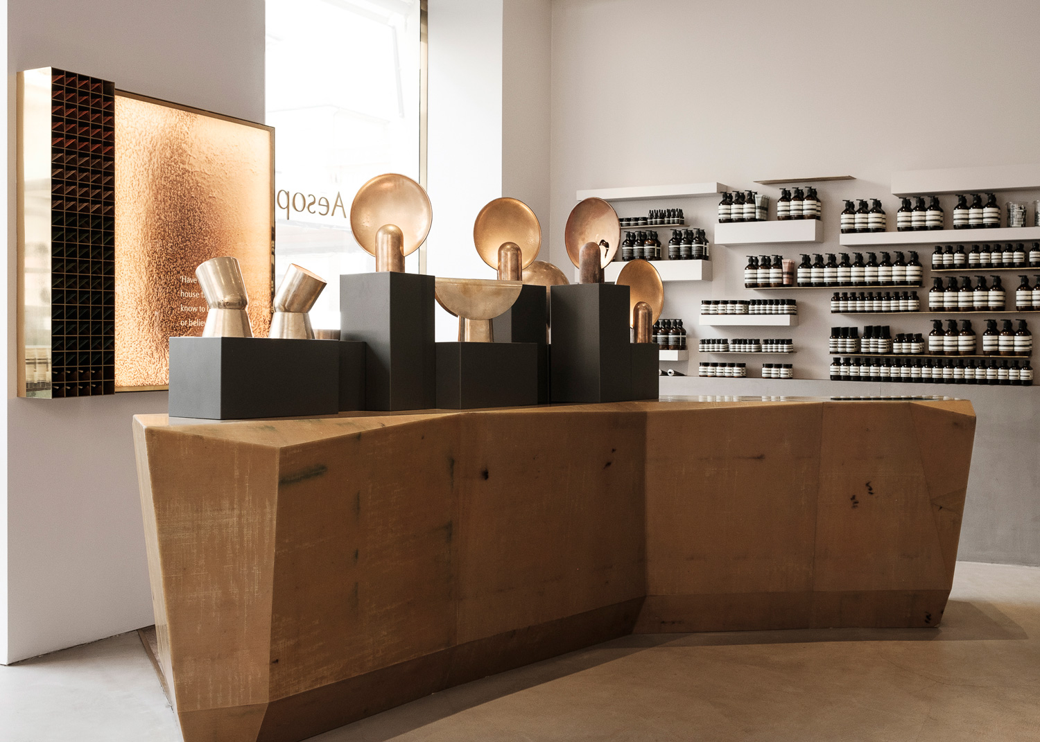 Henry Wilson Cast Impressions at Aesop in Brera, Australian Designers Milan | Yellowtrace