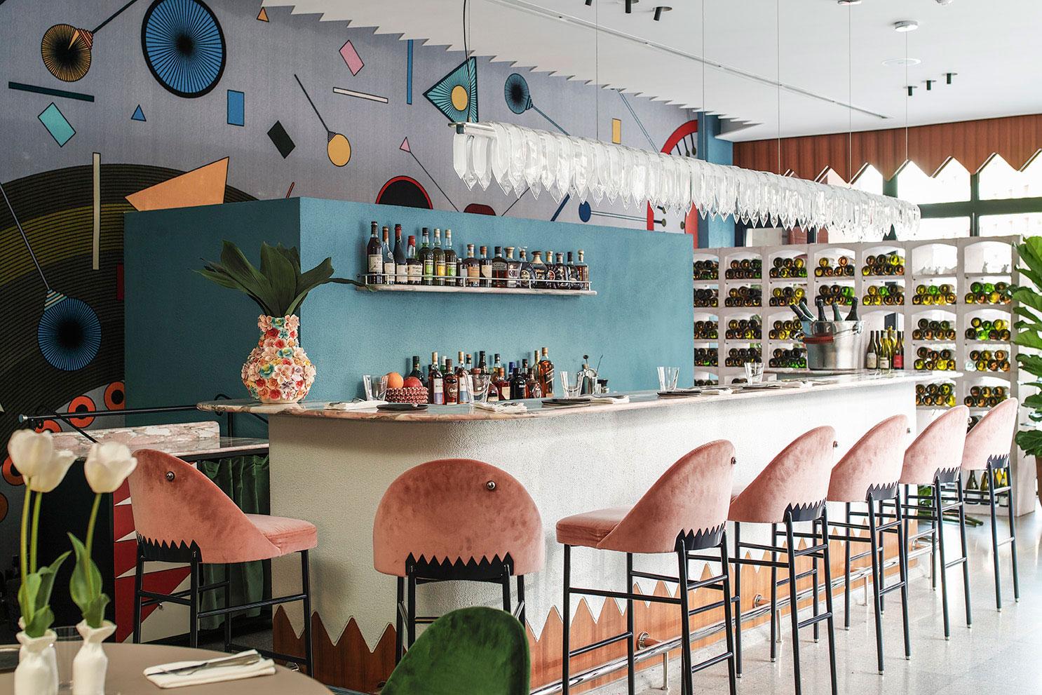 Kaléo fine dining restaurant in beirut by david nicolas