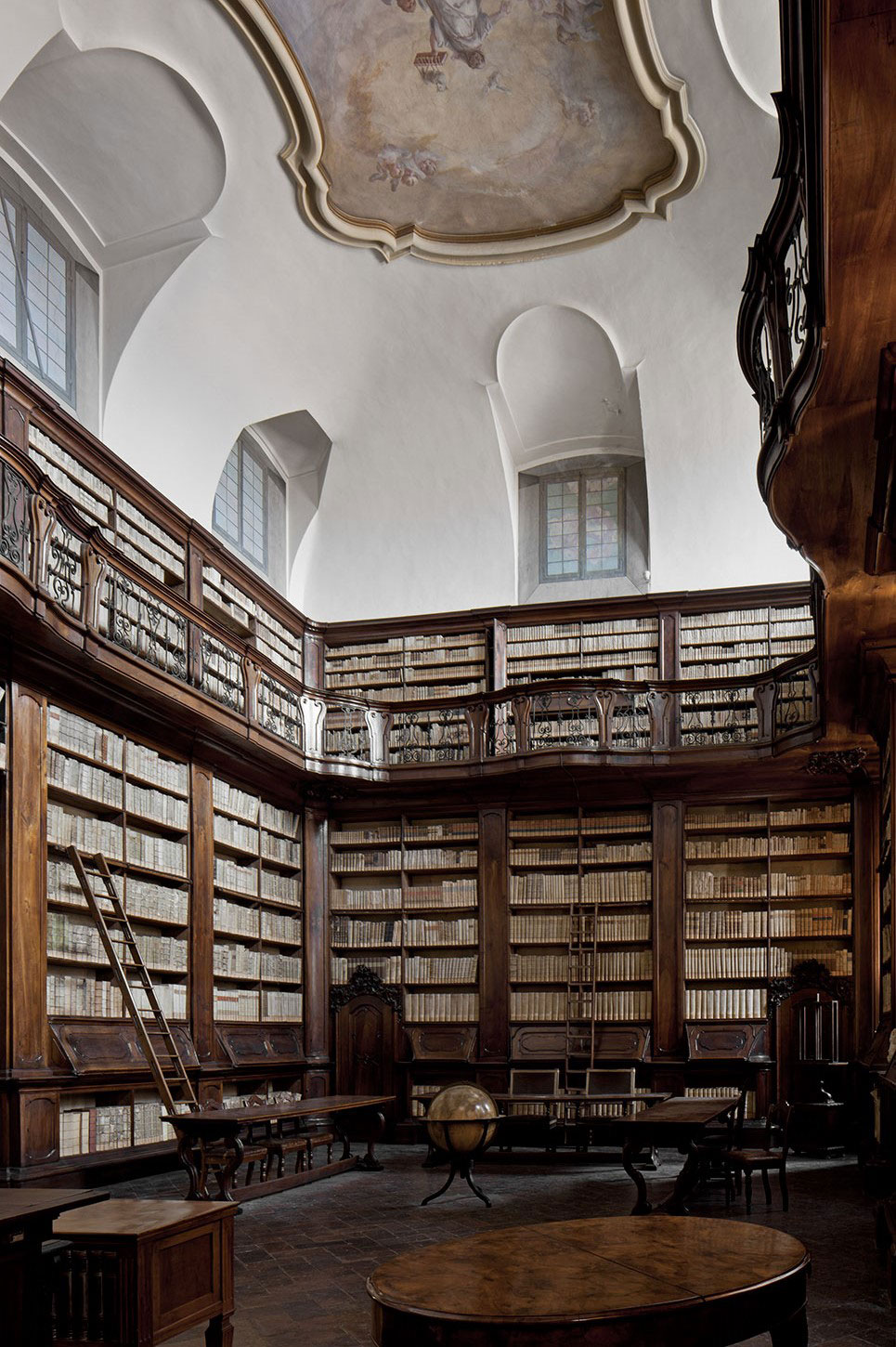 Laudense Library by Michele De Lucchi | Yellowtrace
