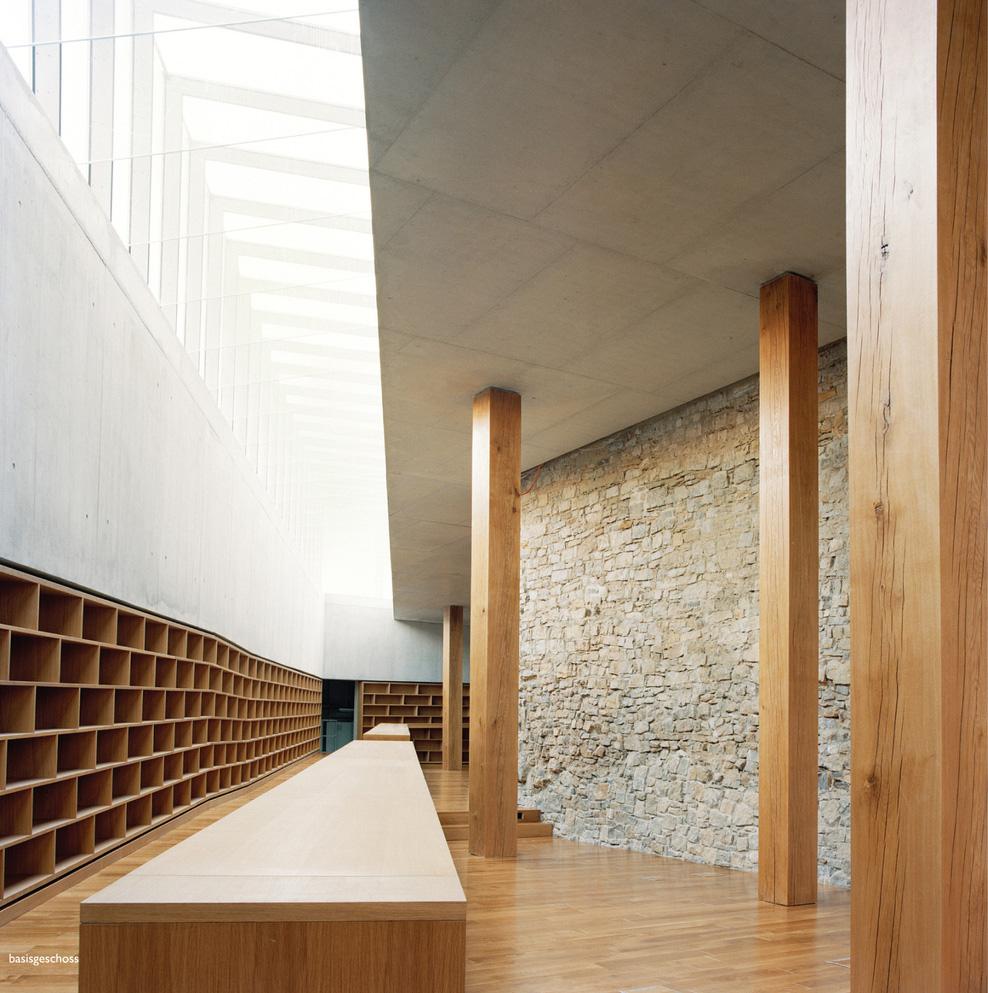 Library Ebracher Hof Schweinfurt by Bruno Fioretti Marquez Architekten | Yellowtrace