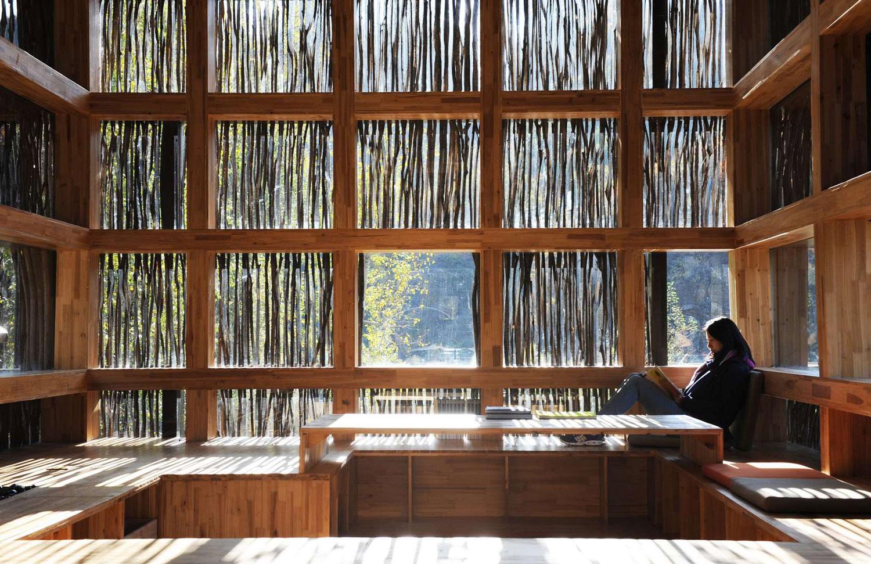 Liyuan Library in Beijing by Li Xiaodong | Yellowtrace