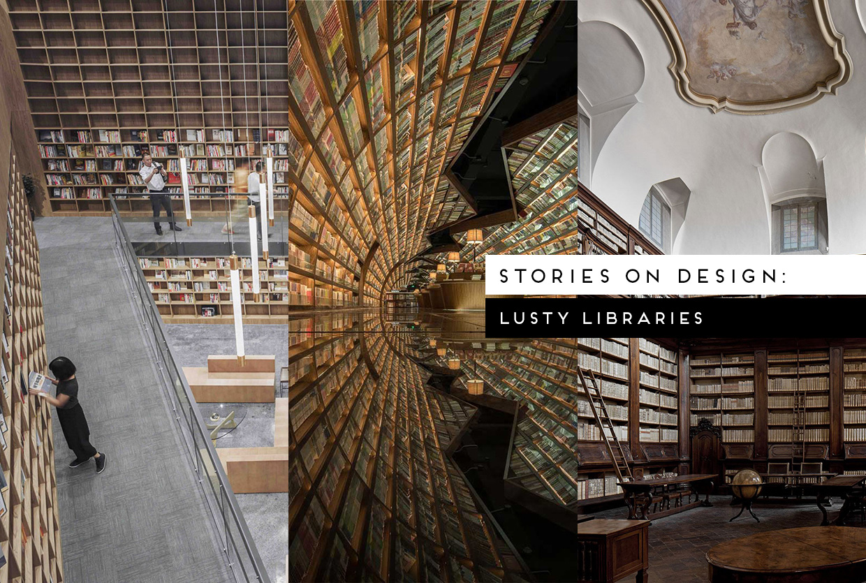 Lusty Libraries Curated by Yellowtrace