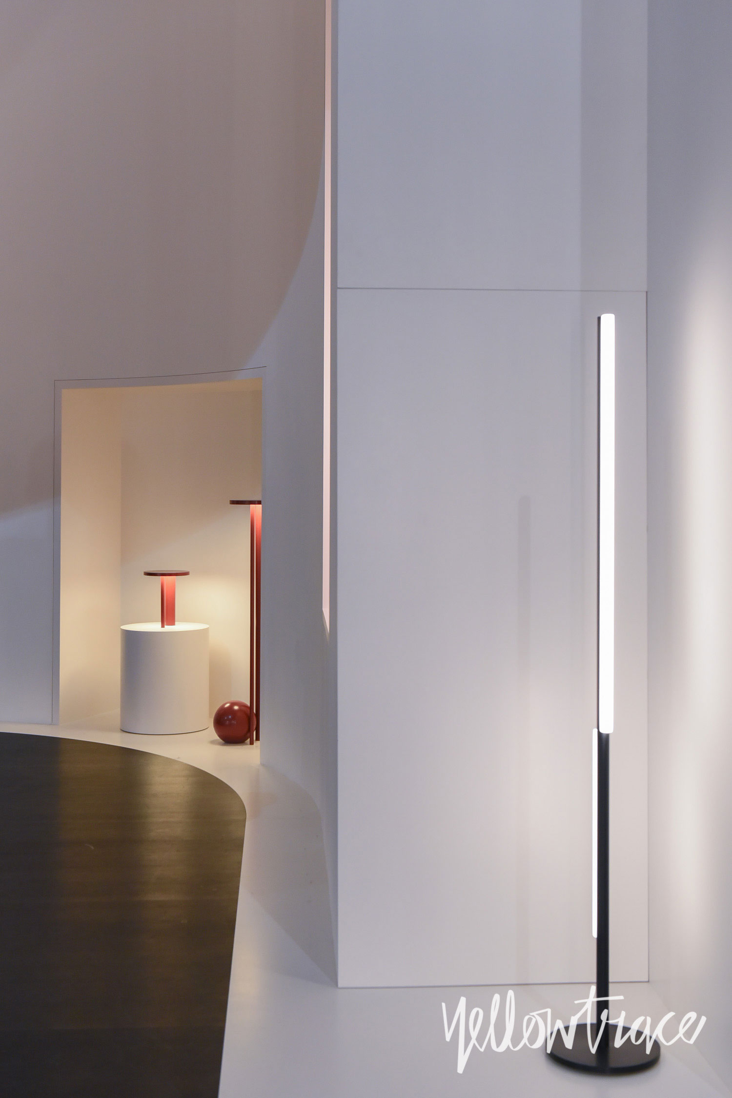 Michael Anastassiades Stand at Euroluce. Photo by Nick Hughes | Yellowtrace