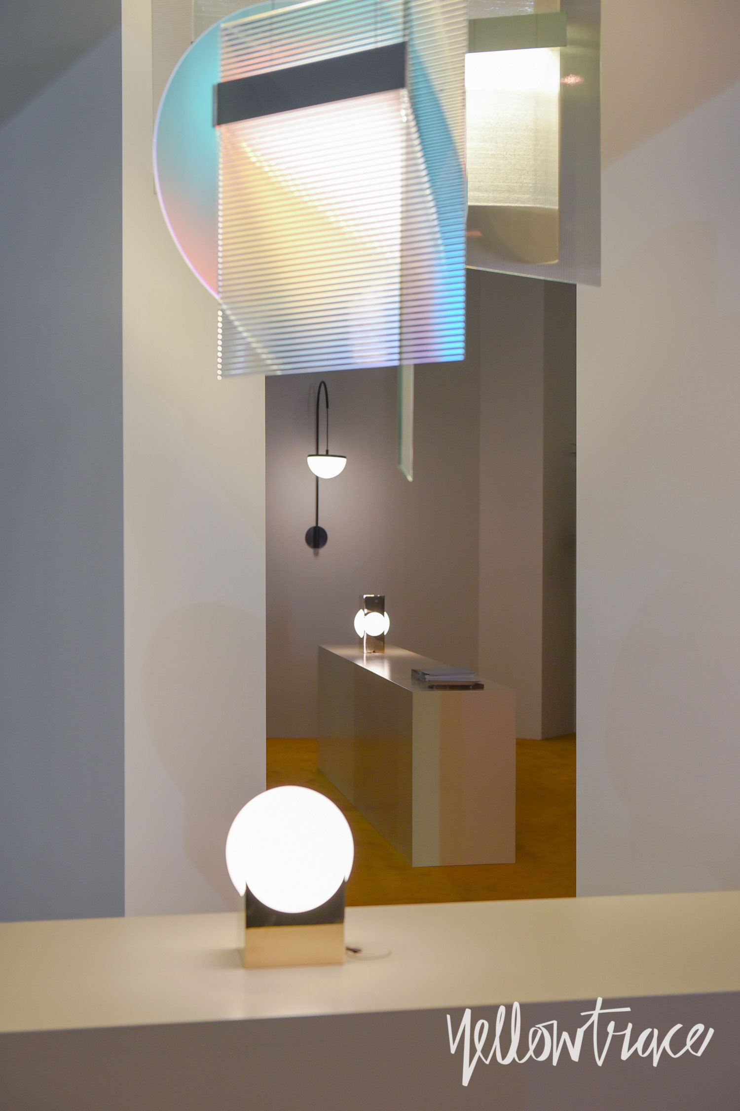 Roll&Hill Stand at Euroluce. Photo by Nick Hughes | Yellowtrace