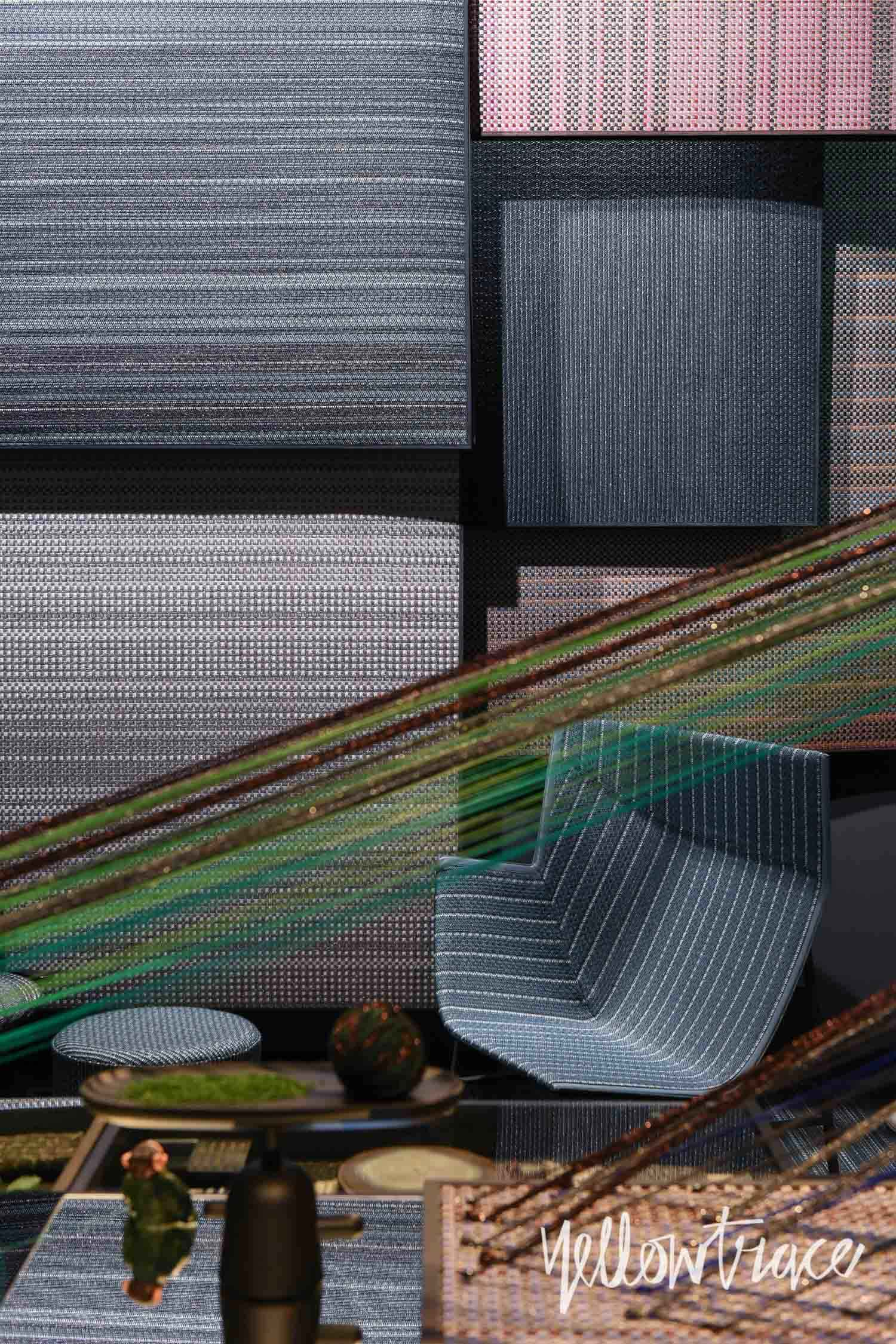 Milantrace 2017 Salone Bolon Stand. Photo by Nick Hughes | Yellowtrace