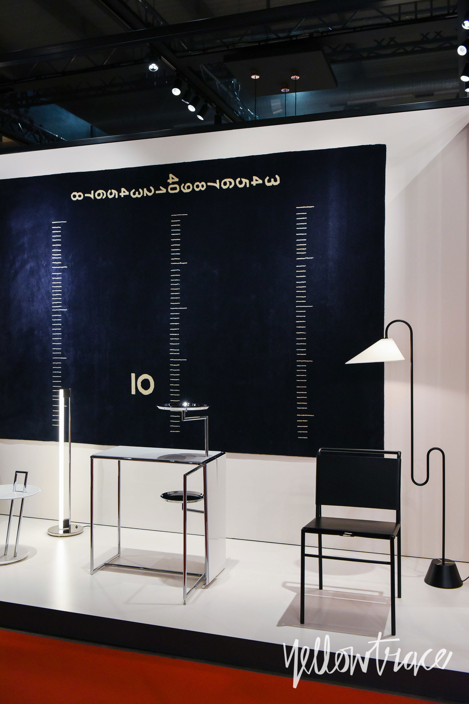 ClassiCon Stand at Salone del Mobile. Photo by Nick Hughes | Yellowtrace