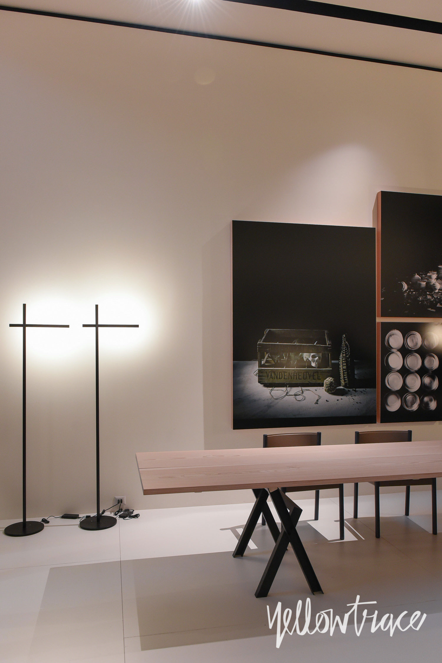 DePadova Stand at Salone del Mobile. Photo by Nick Hughes | Yellowtrace