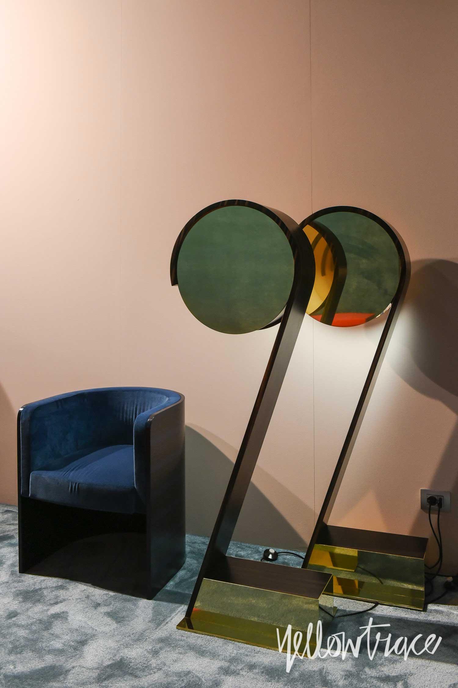 Emmemobili Stand at Salone del Mobile. Photo by Nick Hughes   Yellowtrace