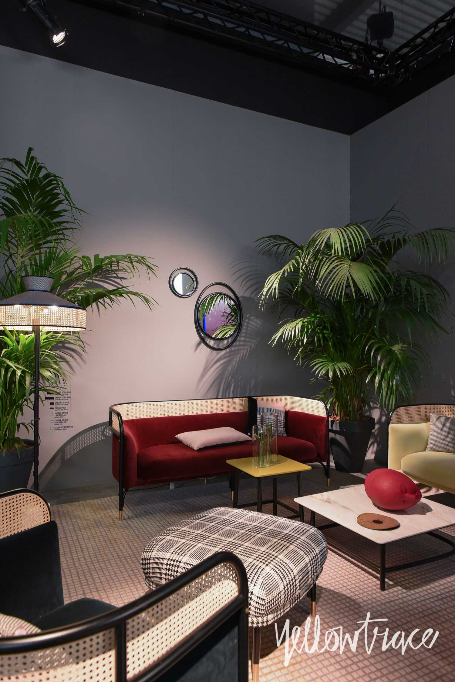 Gebruder Thonet Stand at Salone del Mobile. Photo by Nick Hughes   Yellowtrace