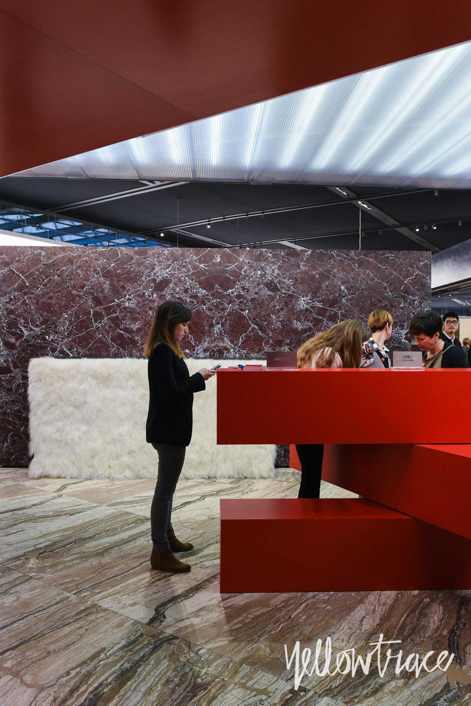 Knoll Stand at Salone del Mobile. Photo by Nick Hughes   Yellowtrace