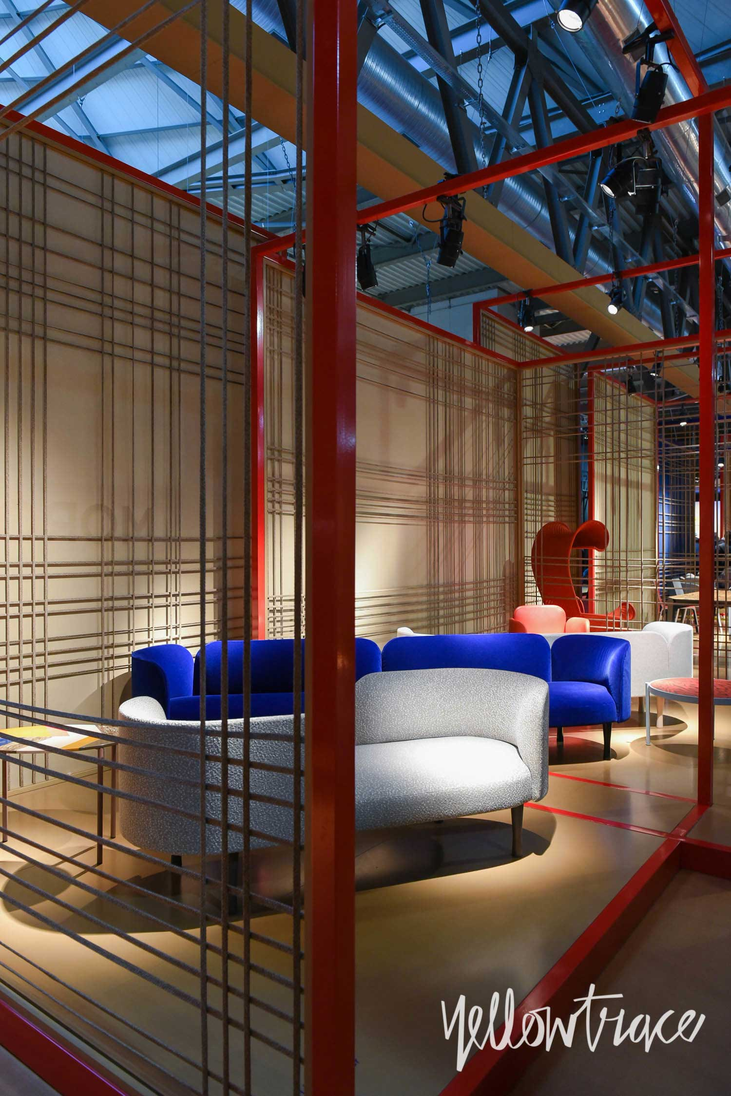 Moroso Stand at Salone del Mobile. Photo by Nick Hughes   Yellowtrace