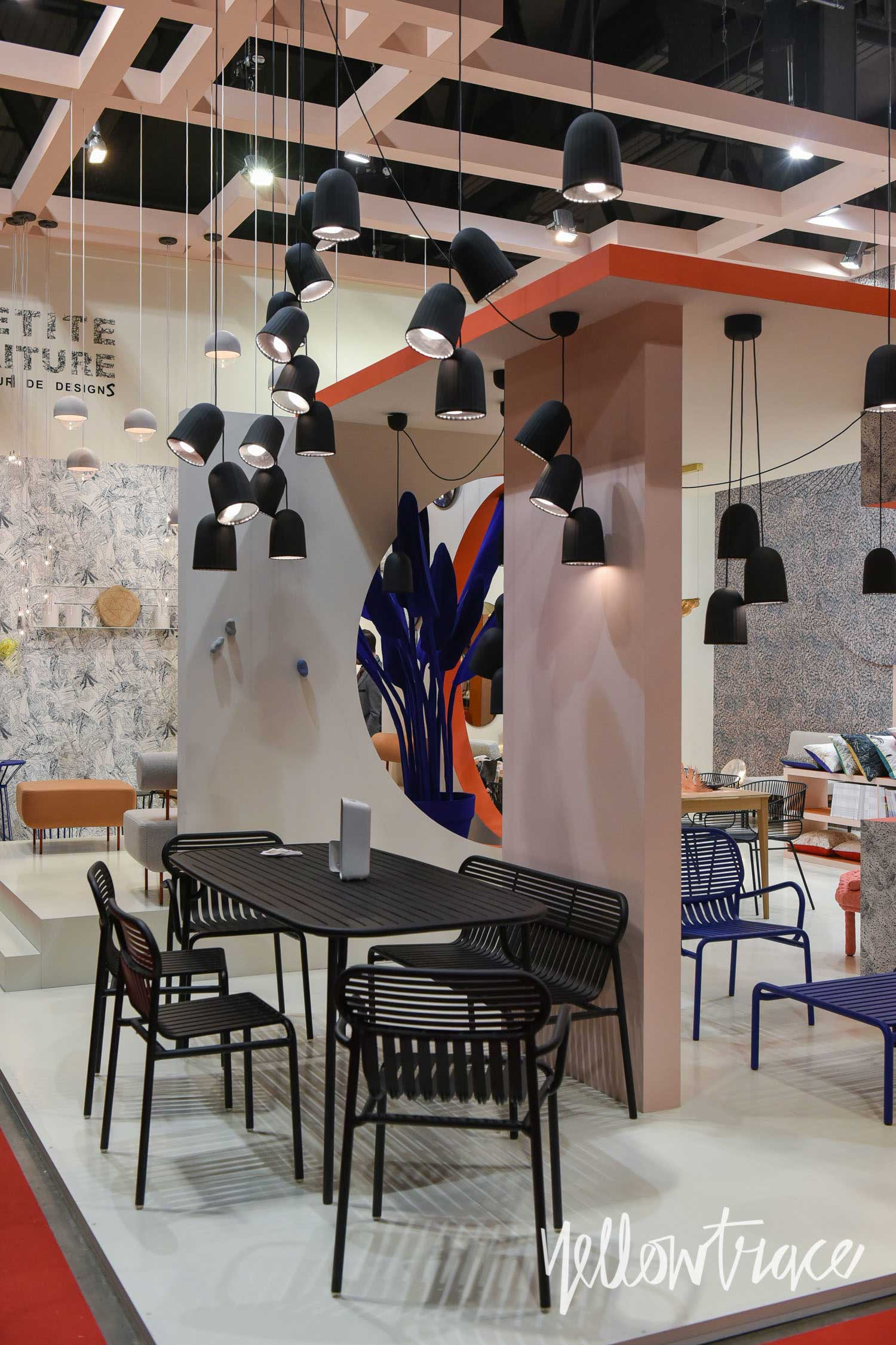 Petite Friture Stand at Salone del Mobile. Photo by Nick Hughes   Yellowtrace