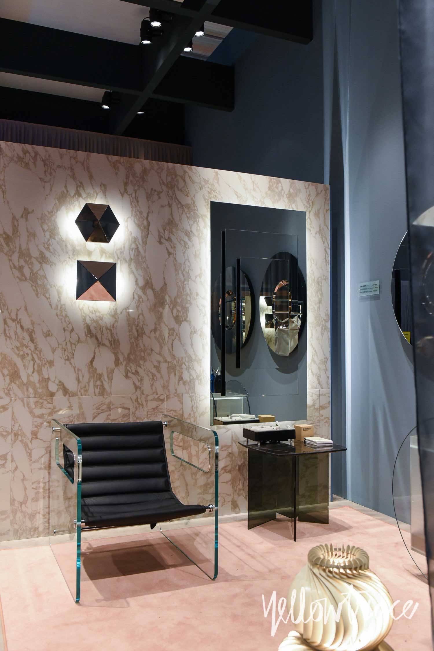 Tonelli Stand at Salone del Mobile. Photo by Nick Hughes | Yellowtrace