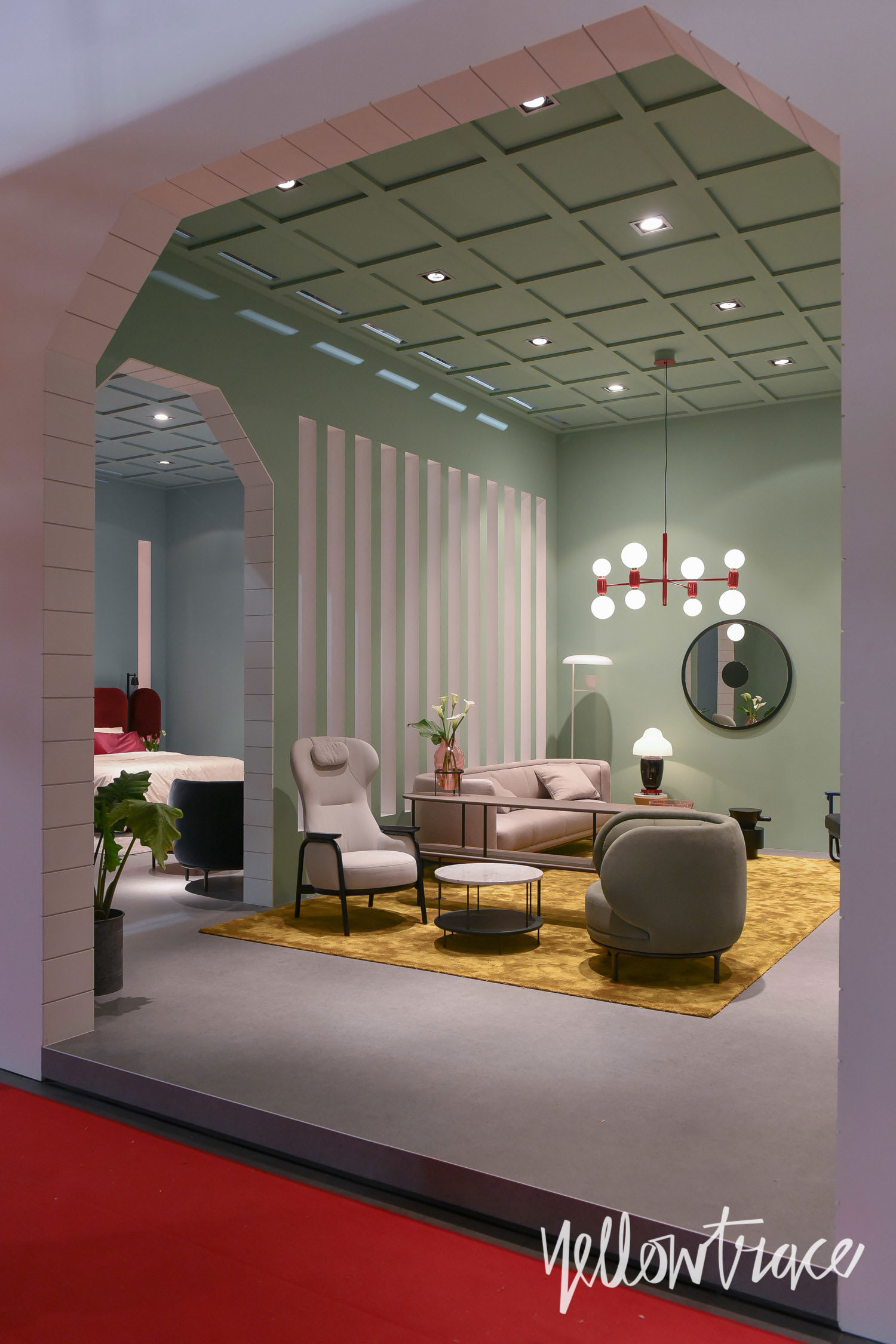 Wittman Stand at Salone del Mobile. Photo by Nick Hughes | Yellowtrace