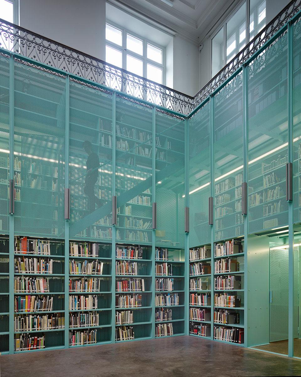 Office 78 Architecture Library by Office Kersten Geers David Van Severen | Yellowtrace