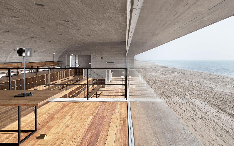 Seashore Library by Vector Architects   Yellowtrace