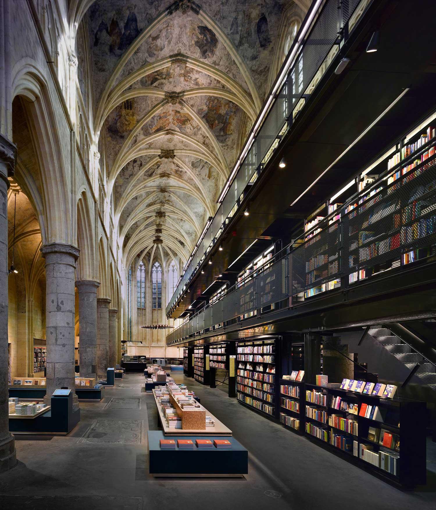 Selexyz Dominicanen Bookstore by Merkx and Girod Architecten | Yellowtrace