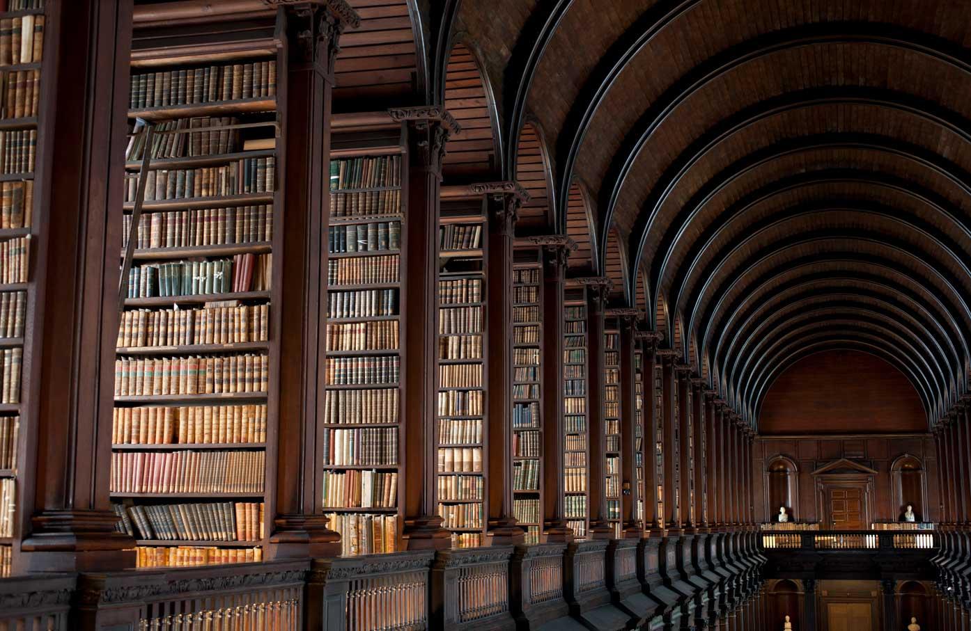 Trinity College Library in Dublin Ireland | Yellowtrace