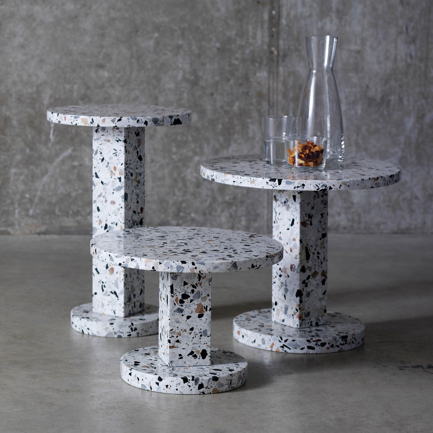 Another Brand Terrazzo Table Collection | Yellowtrace