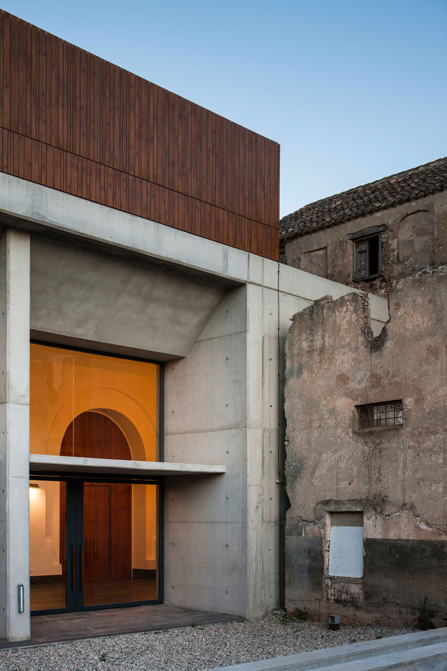 Renovation of the Oscense Theatre and its Annexe Cloister in Huéscar_ Granada | Yellowtrace