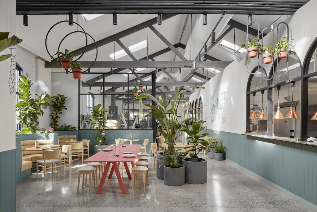 Au79 caf in abbotsford melbourne by mim design yellowtrace for Melbourne space design