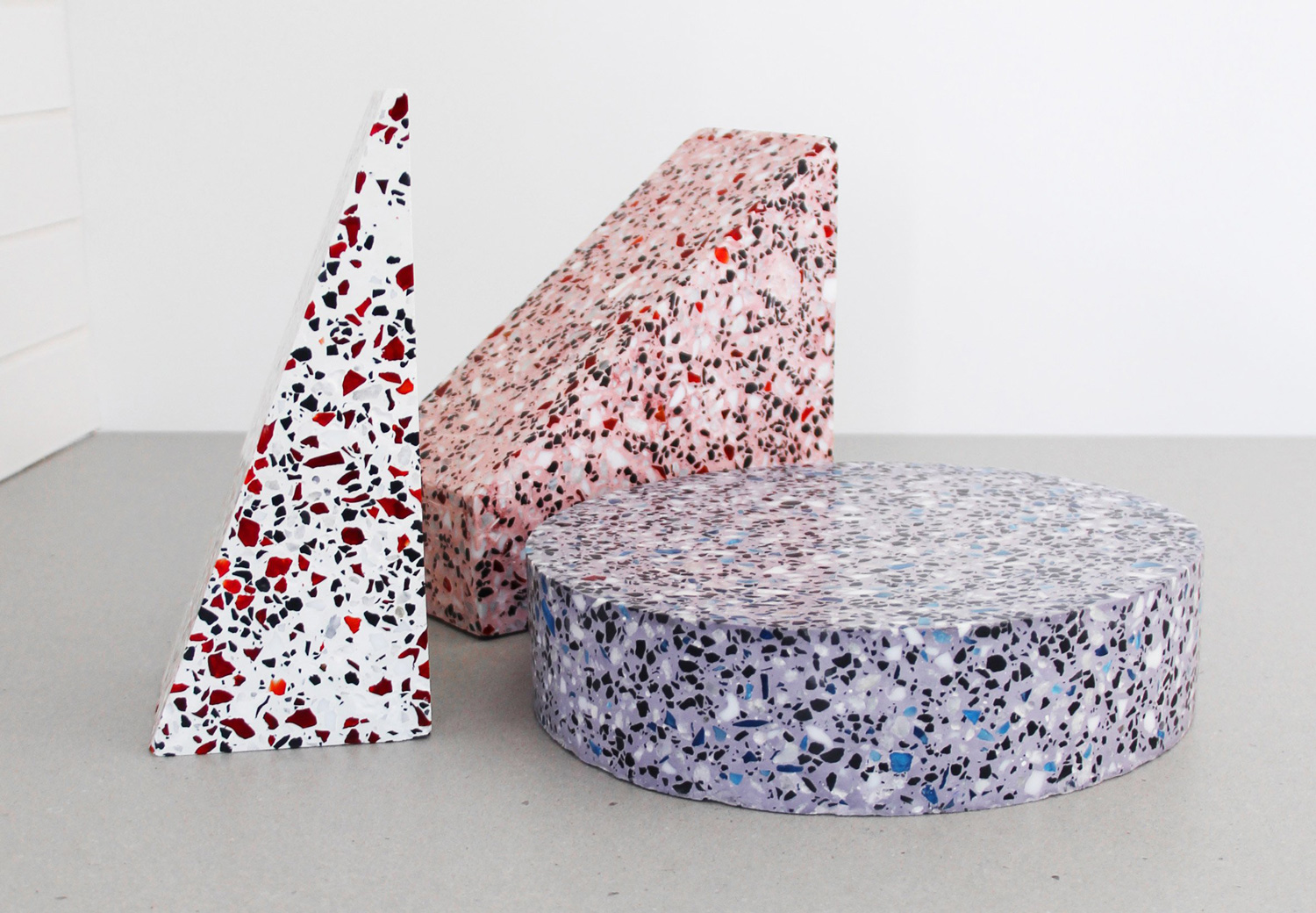 Besler and Sons' Speckled Terrazzo Home Accessories | Yellowtrace