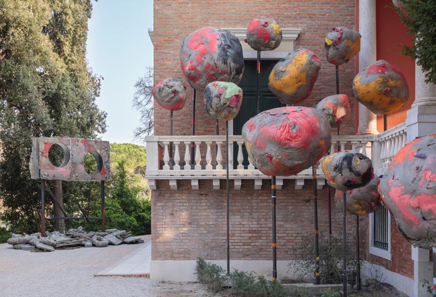 British Pavilion, Phyllida Barlow at Venice Biennale 2017   Yellowtrace