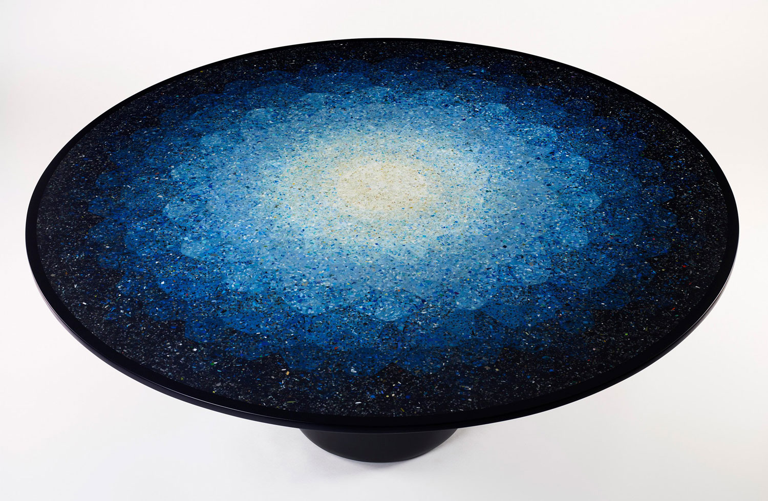 Brodie Neill's Terrazzo Effect Table Using Recycled Ocean Plastics | Yellowtrace
