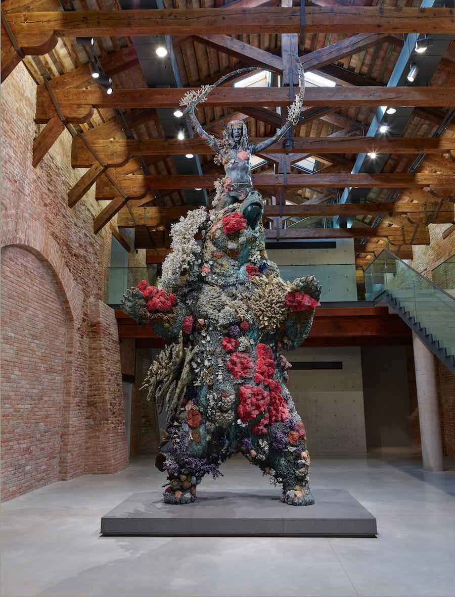 Damien Hirst's Underwater Fantasy Exhibition Treasures at Venice Biennale 2017   Yellowtrace