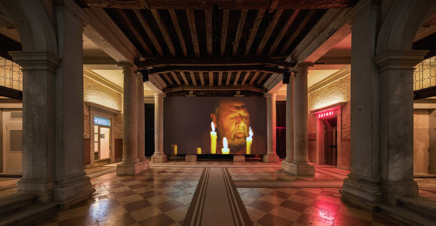 Fondazione Prada, The Boat is Leaking The Captain Lied by Thomas Demand, Alexander Kluge & Anna Viebrock at Venice Biennale 2017   Yellowtrace
