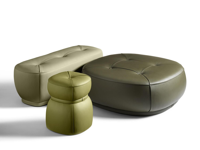 Interview with Kensaku Oshiro, Lepli Leather Bench for Poltrona Frau   Yellowtrace