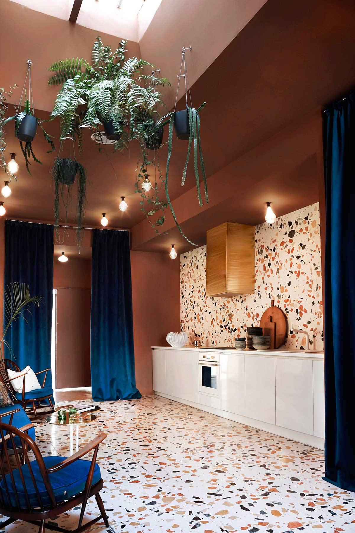 Kitchen for a Madrid Creative Space, Marmoreal by Max Lamb | Yellowtrace