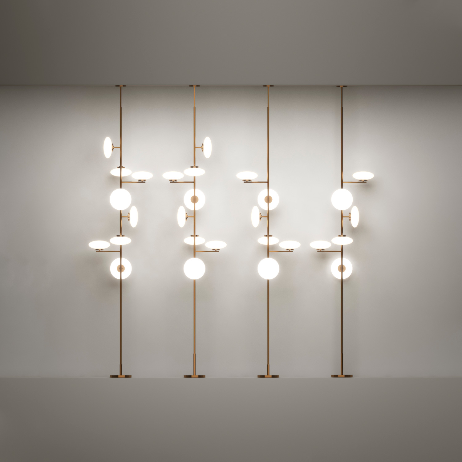 Lamp Ceiling To Floor: Italian Brand Penta Lighting Arrives At Fanuli
