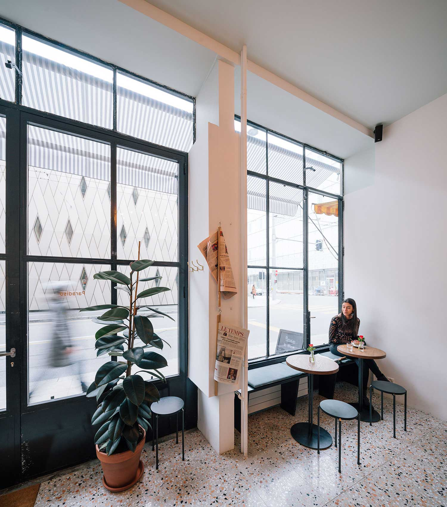 Paradiso Coffee Shop by Nomos - Groupement D Architects | Yellowtrace