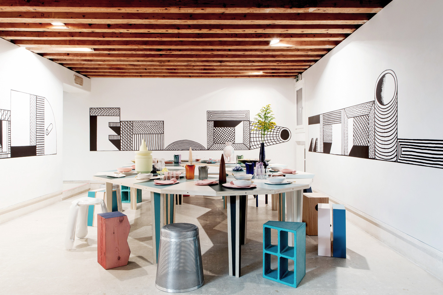 The Breakfast Pavilion by M–L–XL & Luca Lo Pinto at Venice Biennale 2017   Yellowtrace