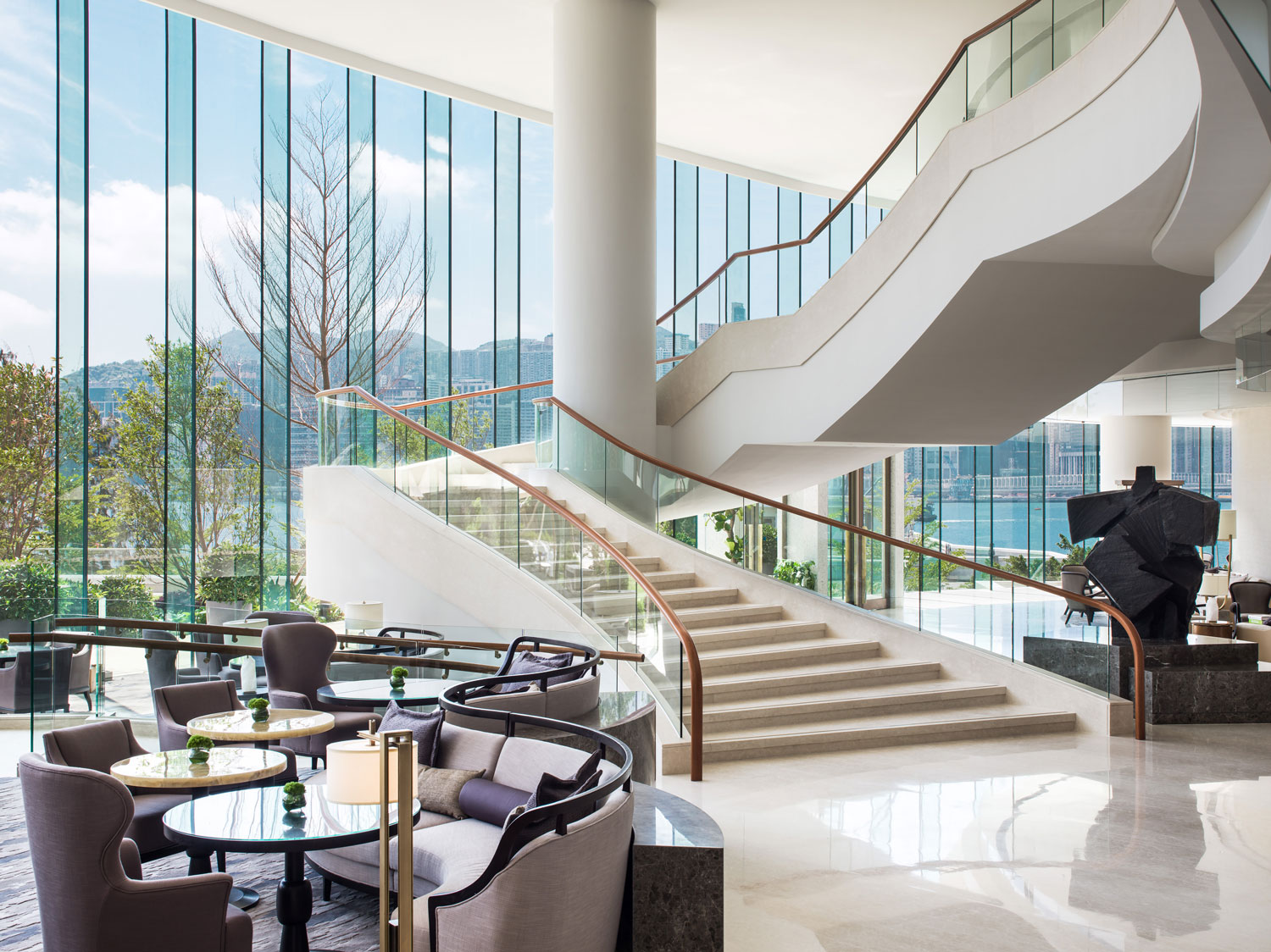 The kerry hotel by andr fu opens in hong kong yellowtrace for Design hotel hong kong