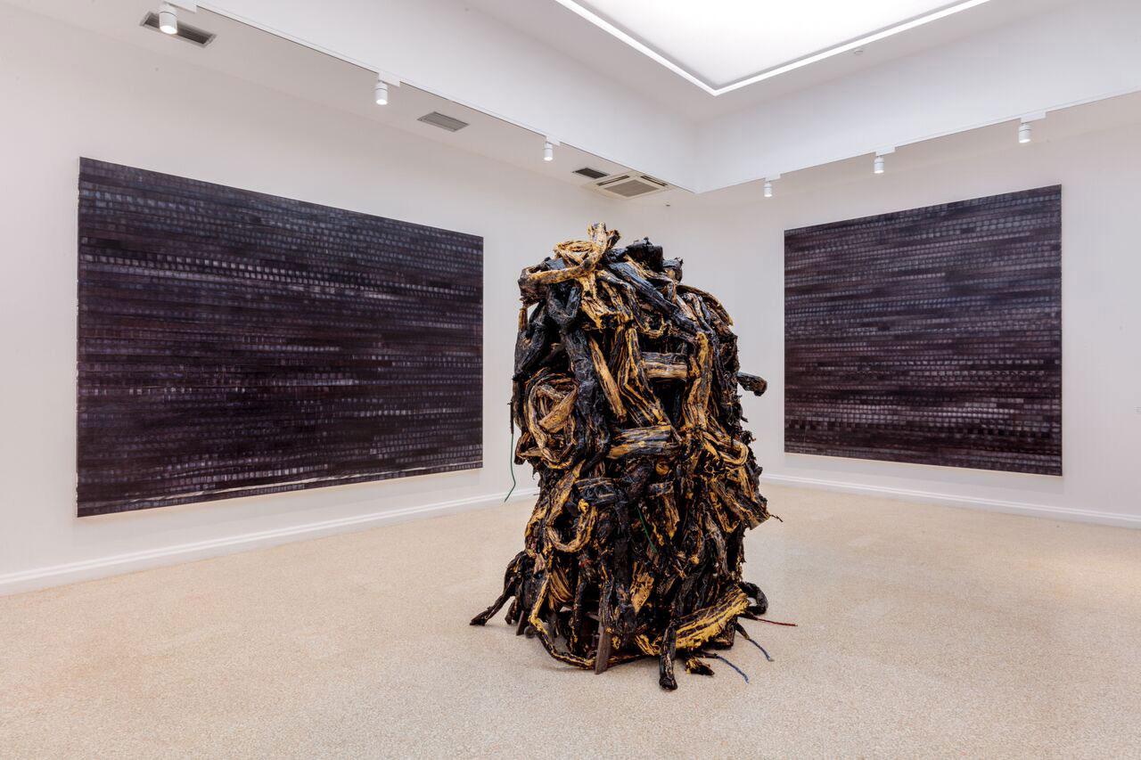 US Pavilion, Mark Bradford at Venice Biennale 2017   Yellowtrace