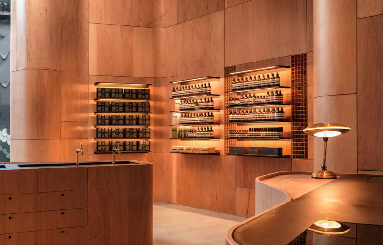 Aesop Pacific Fair by Mlkk Studio | Yellowtrace