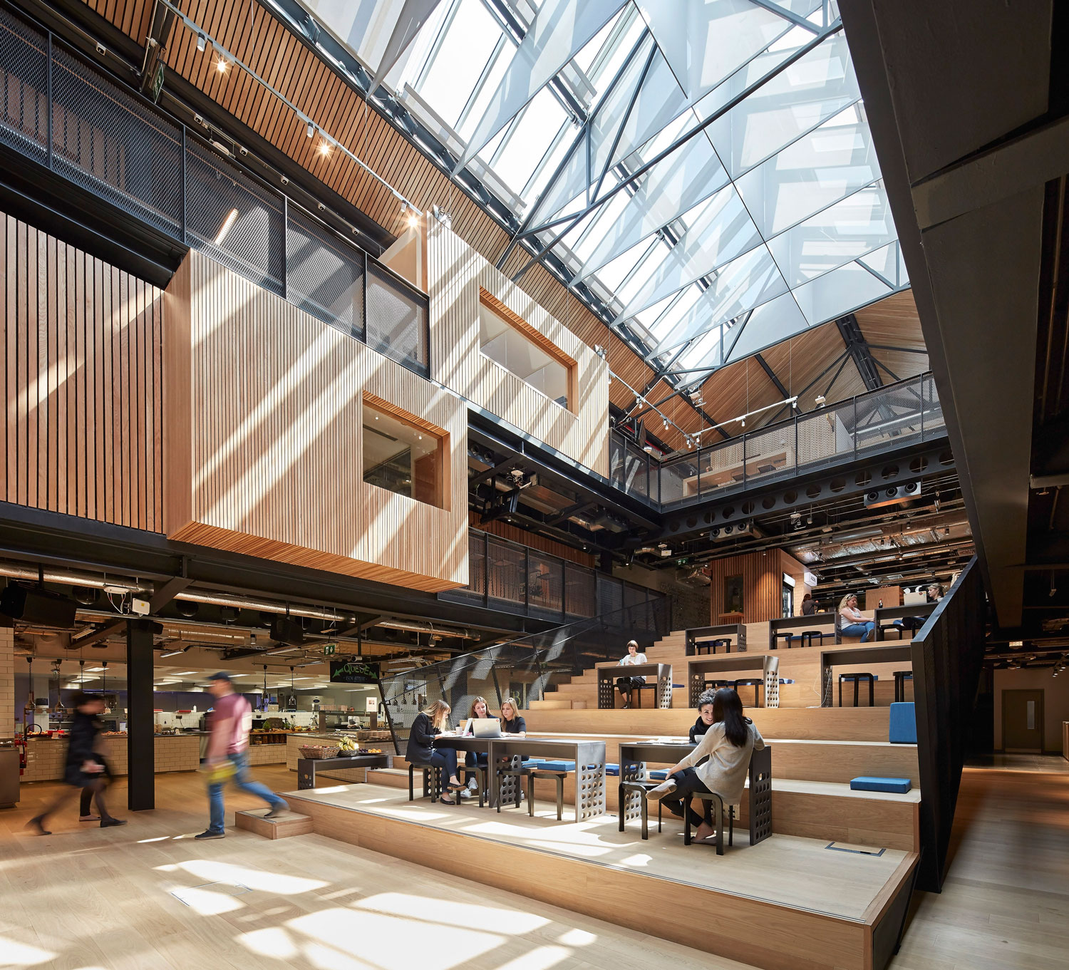 Airbnb European HQ by Heneghan Peng Architects | Yellowtrace