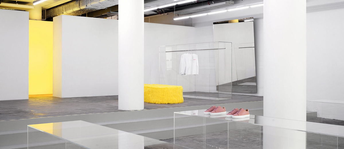 Axel Arigato Gallery In Stockholm By Christian Hallerd