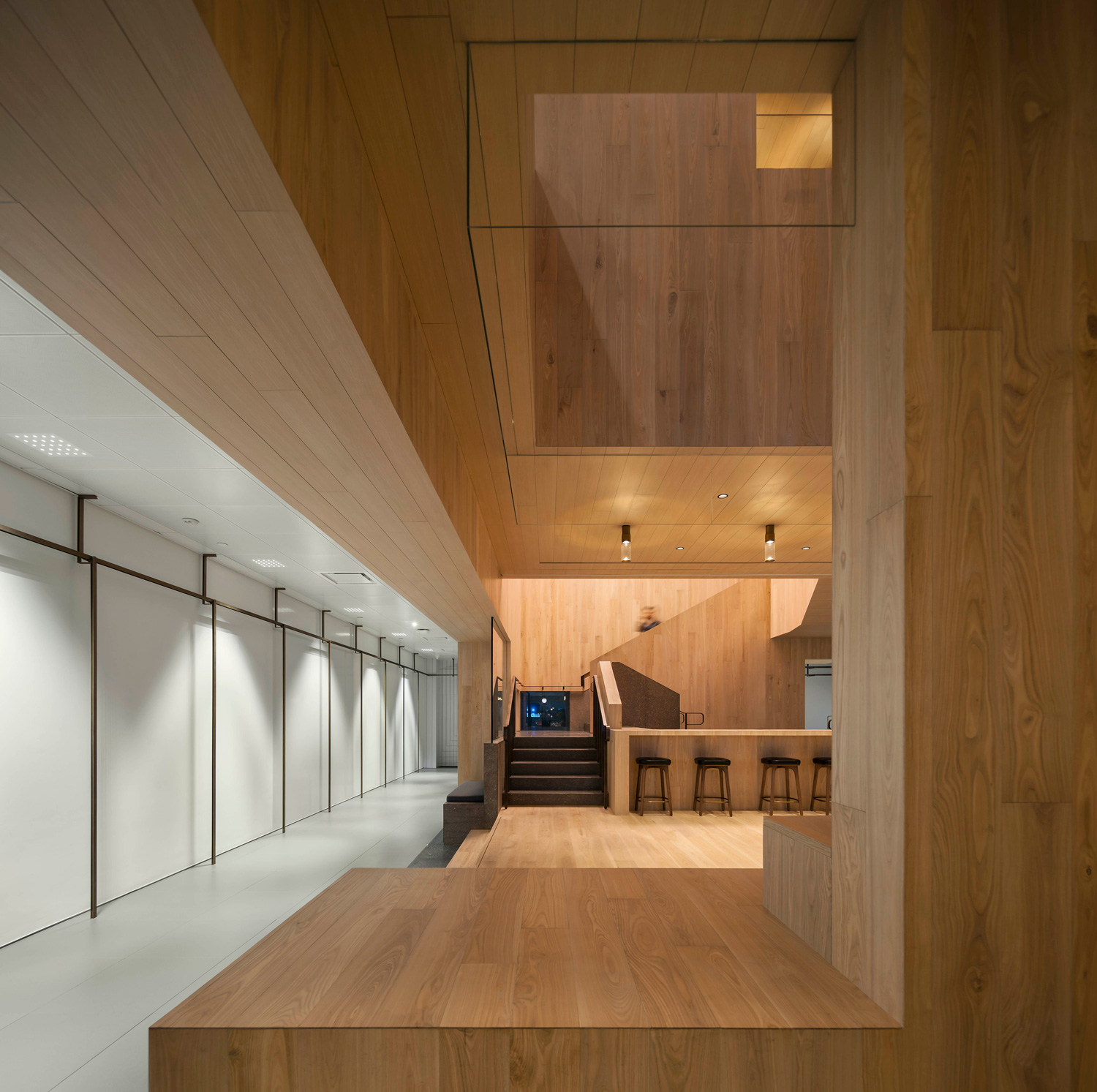 Curio Stair of Encounters by Neri+Hu Design & Research Office | Yellowtrace
